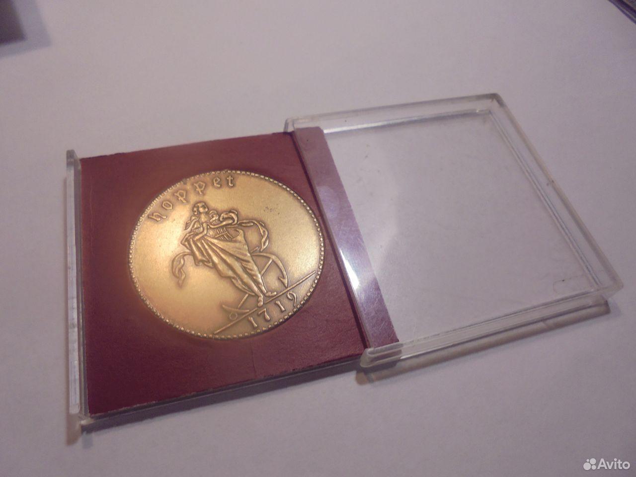 Швеция медный жетон 1 далер 1719 года  89105009779 купить 2