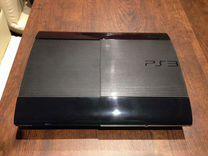 Sony PS3 Super Slim 500Гб + 40 топ игр в подарок