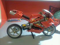 Мотоцикл лего техник 8420