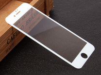Защитное стекло 3D+тпу для iPhone 8 White