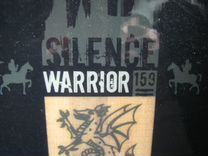 Сноуборд SilenceWarrior с креплениями б/у, в чехле