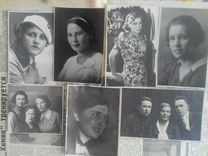 Фотопортреты 30-40-х причёски, мода