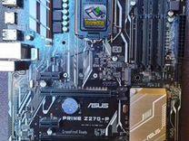 Материнская плата asus prime Z270-P, LGA 1151 Б.У