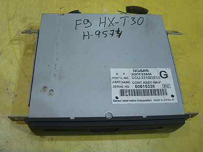 Блок навигации DVD 25915 ES60A Ниссан X-Trail T-30