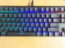 Механическая клавиатура Motospeed CK101 red switch