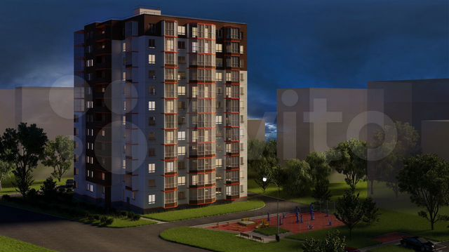 купить квартиру студию Коммунальная 6