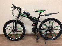 Велосипед на литых дисках. Арт: 529