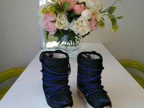Зимние луноходы сапоги adidas мембрана Р-28