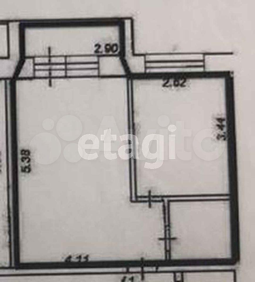 Квартира-студия, 30.8 м², 4/5 эт.