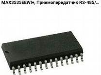 MAX3535eewi+, Приемопередатчик RS-485/RS-422