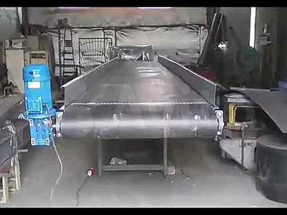 Ленточный транспортер на авито бу наклонный желобчатый конвейер