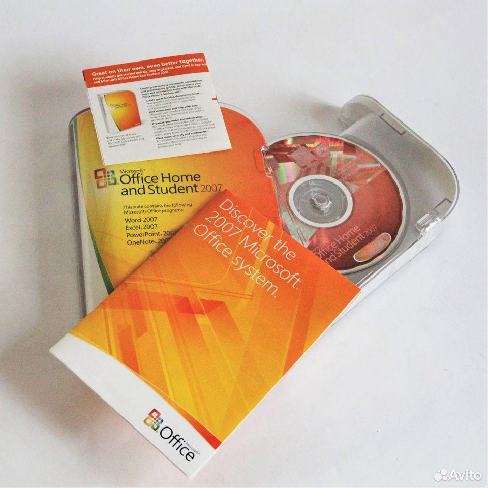 Microsoft Office 2007 Home and Student BOX  89610747575 купить 1