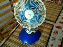 Вентилятор бытовой настольный