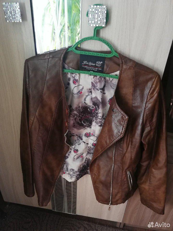 Кожаная куртка  89507585962 купить 1