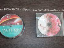 DVD диски DVD+RW, DVD+R