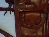 Сумка винтажная кож.зам — Одежда, обувь, аксессуары в Санкт-Петербурге