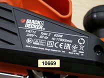 Рубанок black & decker KW712