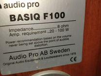 Колонки audio pro f100,c100,s100+ сабвуфер Yamaha