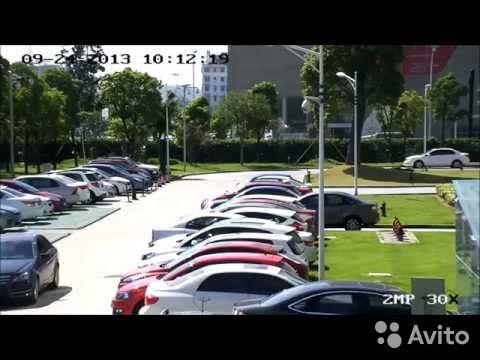 Поворотная управляемая AHD камера видеонаблюдения купить 1